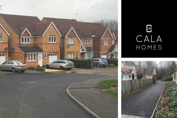 Cala Homes - Ashby Fields Section 38